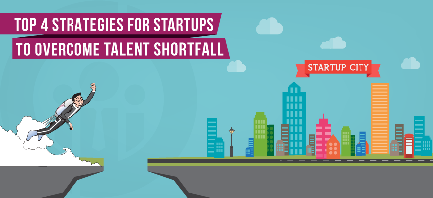 Top 4 Startup Hiring Strategies to Overcome Talent Shortfall