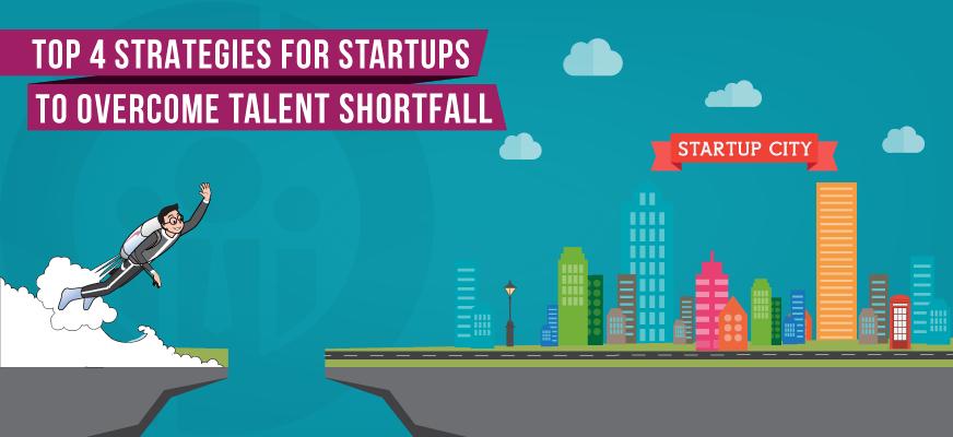 Top 4 Startup Hiring Strategies to Overcome Talent Shortfall
